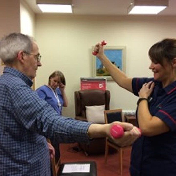 Getting patients fit for Christmas