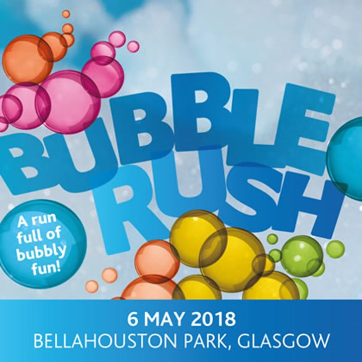 Bubble Rush for St. Vincent's Hospice