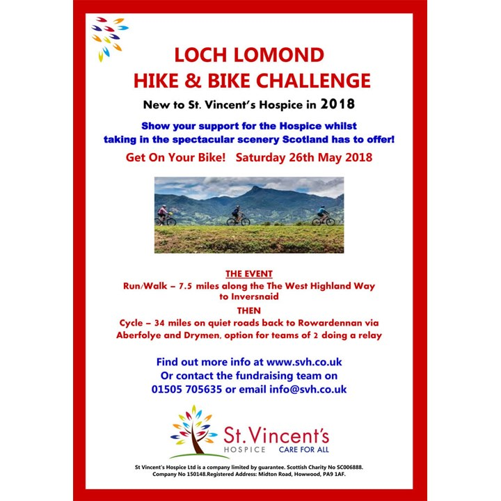 Loch Lomond Bike and Hike Challenge