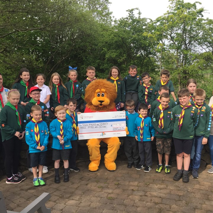 Beavers and Cubs go the distance for charity