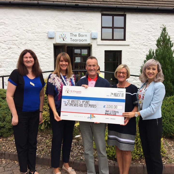Bowling Club raises over £2,000 for charity