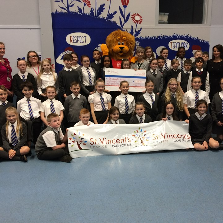 Thorn Primary School take the 30 for 30 challenge!