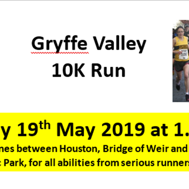 Gryffe Valley Rotary Club 10k for Charity