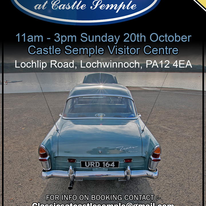 Classics at Castle Semple Returns for 2019