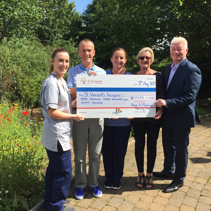 Local Bowling Club Raise Thousands for Hospice Care