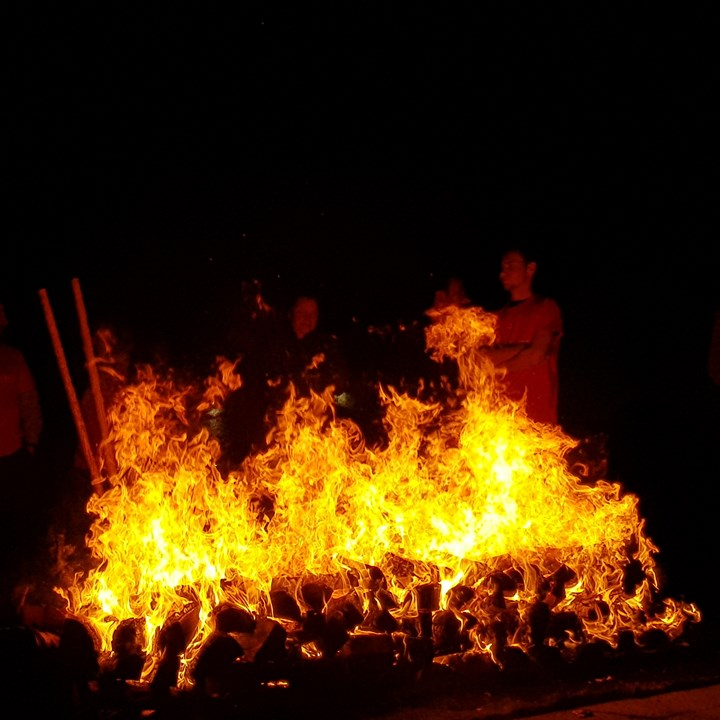 The Firewalk for St. Vincent's Hospice